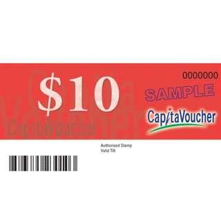 $190 CapitaVouchers