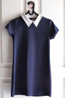 Dress mini navy