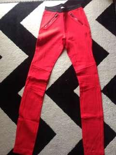 Witchery red pant