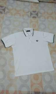 Fred Perry (Class A) Polo Shirt - White