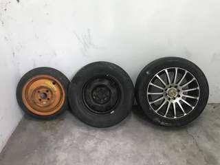 Tayar Tyre Spare
