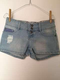 Short Jeans Flower