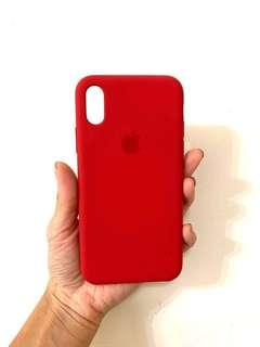 iPhone XS Silicon Case - Product(RED)