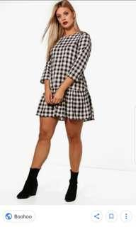 Boohoo Gingham Dress