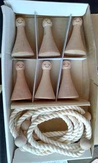 Wooden Table Toy Set