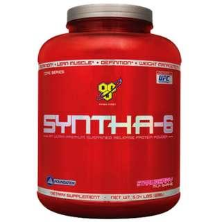 Protein Powder Sustained Release Casein : BSN Syntha-6 (5lbs)