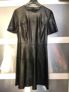Zara Faux Leather Dress 仿皮連身裙