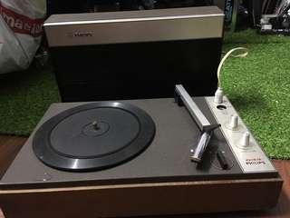 Portable turntable philips 633