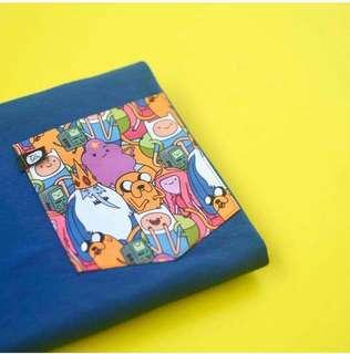 Adventure Time Pocket Shirts