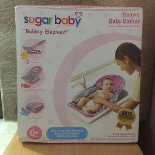 NEW!! Sugar Baby Bubbly Elephant baby bather