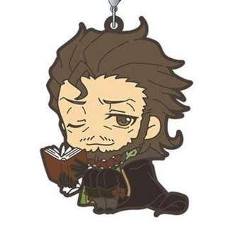 Fate/Apocrypha Caster of Red (Shakespeare) Rubber Mascot Strap / Keychain