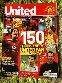 Manchester Inside United Official Magazine 150 issue