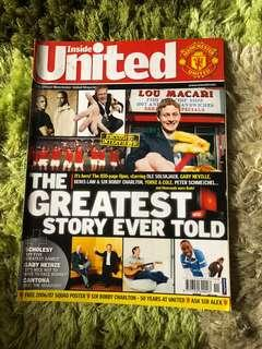Manchester Inside United Official Magazine 172 issue