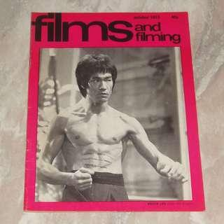 Bruce Lee Films And Filming Magazine 1973 UK 李小龍 Enter The Dragon King Boxer Kung Fu