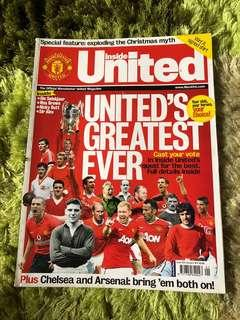 Manchester Inside United Official Magazine 222 issue