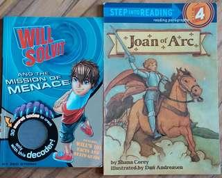 Will Solvit and The Mission of Menace / Step into Reading level 4 Joan of Arc