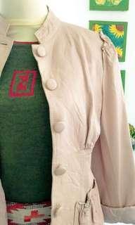 Tara Jarmon lambskin blazer/Jaket Authentic
