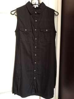 Dress atau atasan panjang