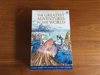 Age 8+ Classic Adventures, Myths and Legends - 10 books