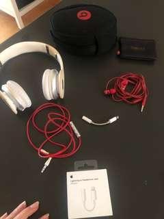 Beats headphones and earphones