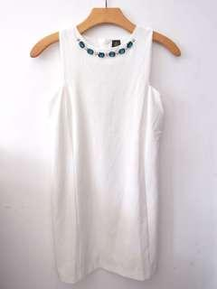 Heirs dress putih like new