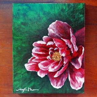 Acrylic Painting on Stretched Canvas