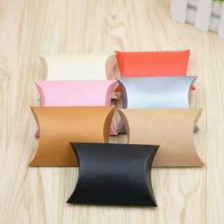 Kraft Pillow Boxes for Packaging