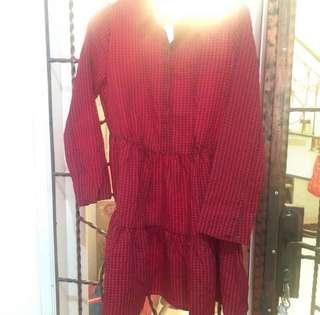H&M dress blouse new