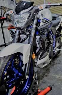 Yamaha MT-03 極低里程 全車無倒摔 極美 學生專案 免保人