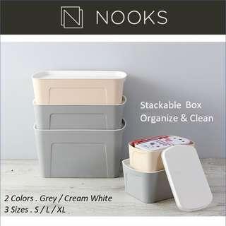 Stackable Storage Box - 5L/19L/33L