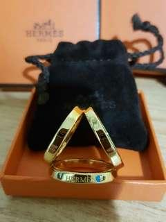 Hermes scraft ring