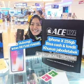 Iphone X 256gb bisa kredit Promo free 1x angsuran