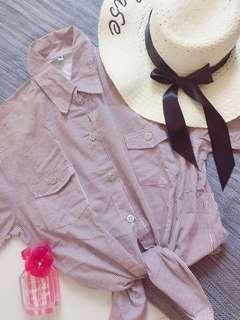 Oversize Striped blouse