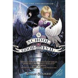 💐 the school for good and evil by soman chainani   paperback set