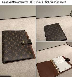 Louis Vuitton organizer