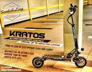 90KM KRATOS Electric Scooter Preorder OFFER