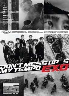 [NON-Profit Group Order] EXO 5th Full album - Dont mess up my tempo