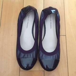 🈹原價$850💥Maud Frizon深紫色婆仔鞋
