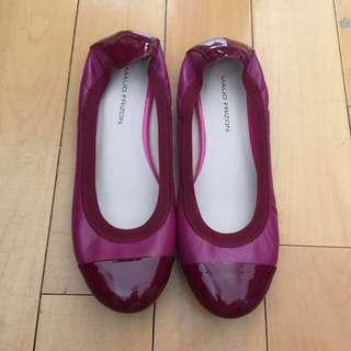 🈹原價$850💥Maud Frizon桃紅色婆仔鞋