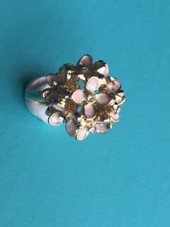 Flower Light Gold ring