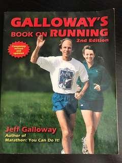 GALLOWAY'S BOOK ON RUNNING