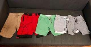 Boys Shorts Assorted size 3