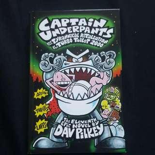 Captain Underpants And The Tyrannical Relation Of The Turbo Toilet 2000 By Dav Pilkey (Hard Cover)