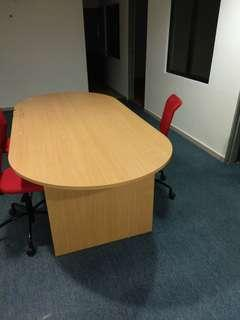 Meeting table for 6-8 pax