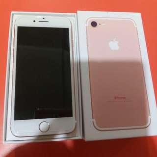 Iphone 7 256gb RUSH ROSEGOLD