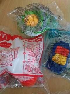 麥當勞開心樂園餐玩具