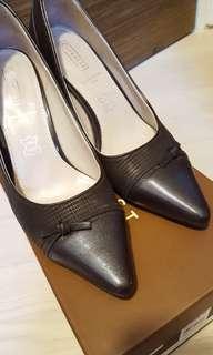 Everbest Brown Leather Heels US 7