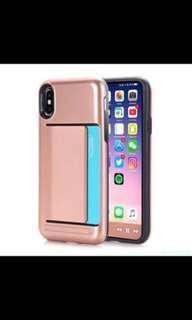 BN - IPhone X Case - Rose Gold