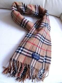 (超超長!)Burberry Vintage Scarf 頸巾 圍巾