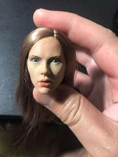 1/6 Scarlet Johansson headsculpt